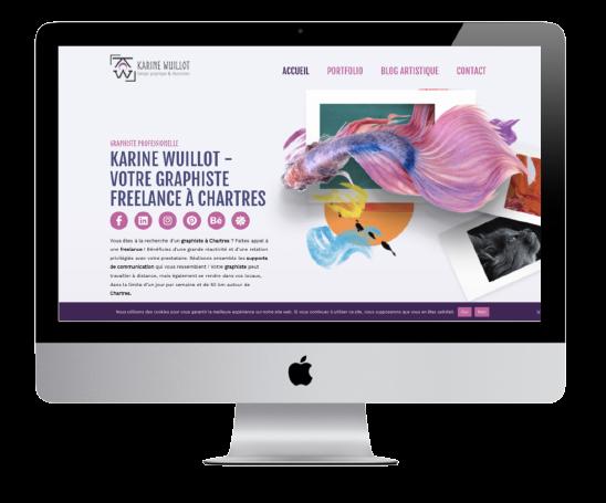 Site de Karine Wuillot